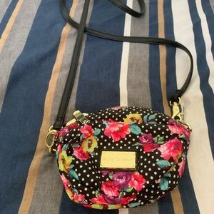 Betsey Johnson colorful purse with long strap